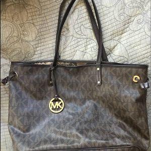 MK reversible large bag